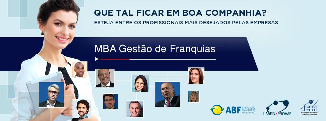 MBA Gestão de Franquias