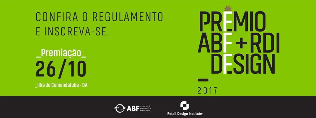 Inscrição Prêmio Design 2017