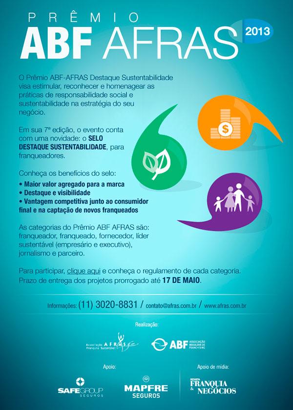 Prêmio ABF AFRAS 2013