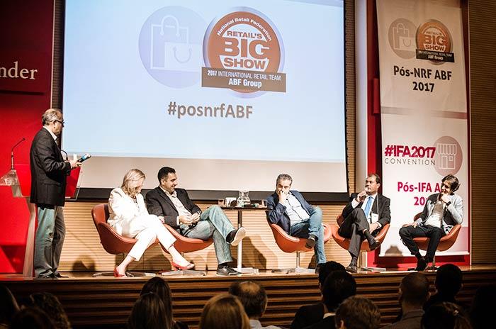 ós NRF e Pós IFA 2017 Clodoaldo Nascimento