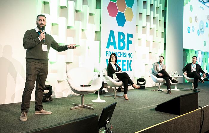 (A partir da esq.) Alexandre Luercio, Lyana Bittencourt, Pedro Badur e Alessandro Thiry