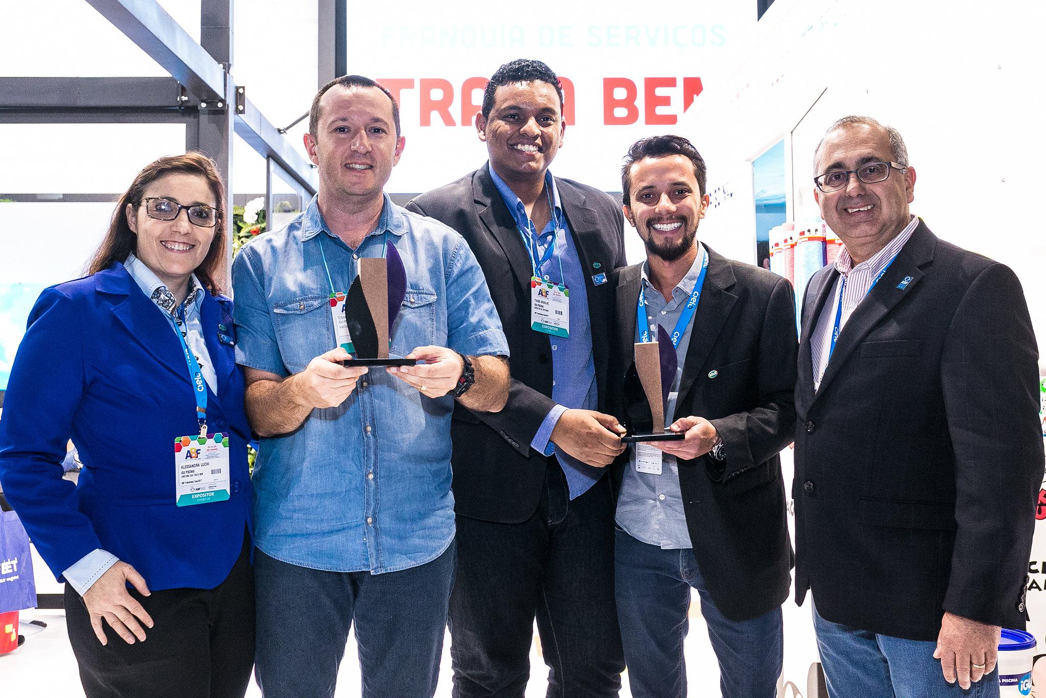 Marcas recebem o Prêmio ABF Estande Sustentável 2017