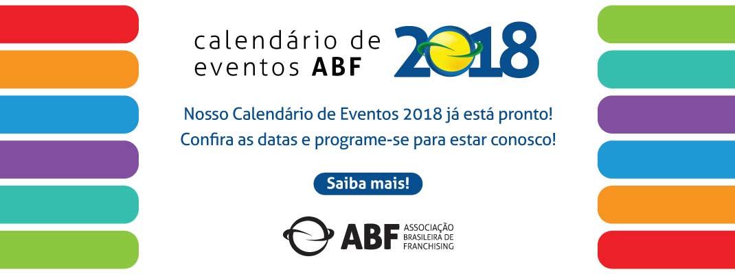 ABF Associação Brasileira de Franchising Calendário 2018