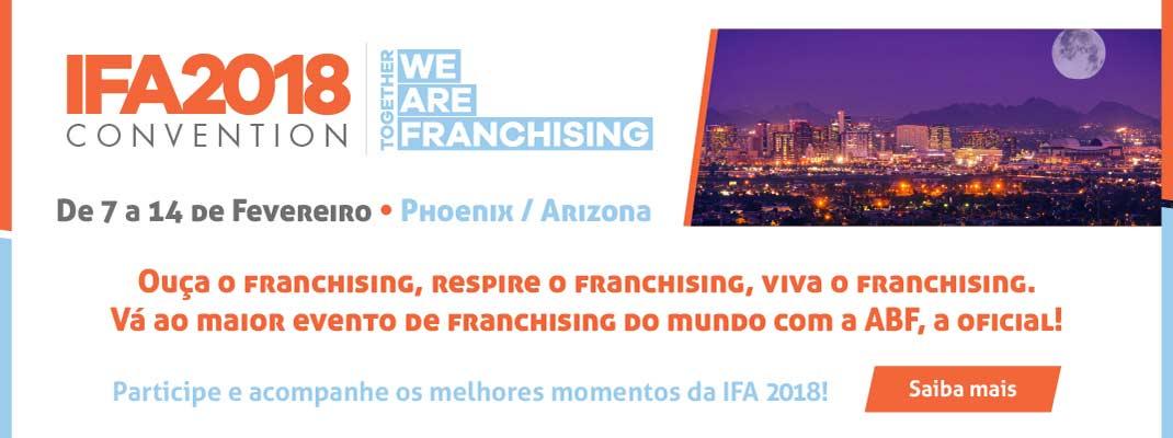 ABF - Associação Brasileira de Franchising IFA 2018