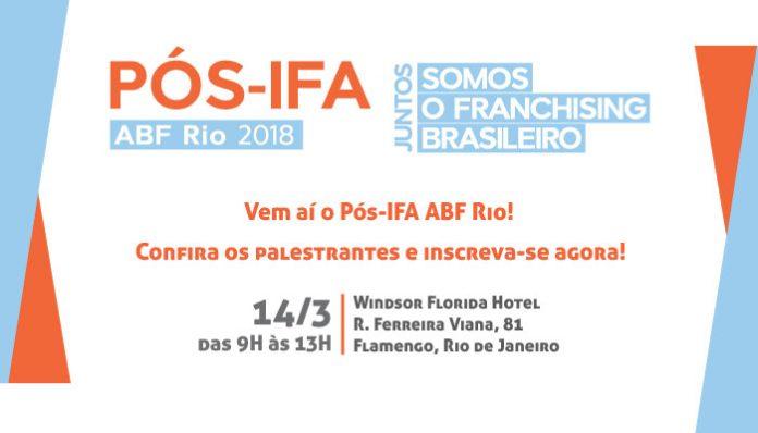 Pós-IFA 2018 ABF Rio