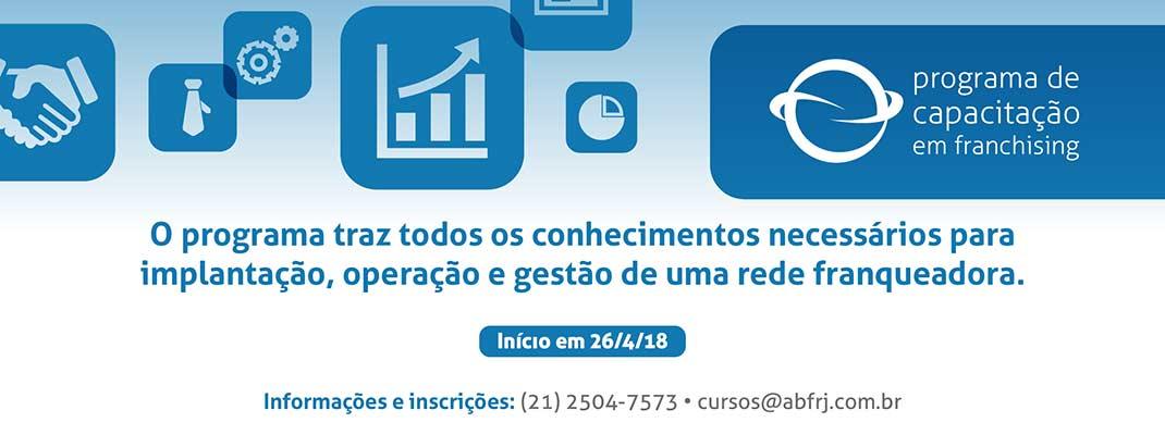 Programa de Capacitação em Franchising ABF Rio