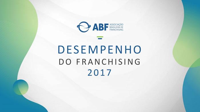 Desempenho anual do franchising 2017