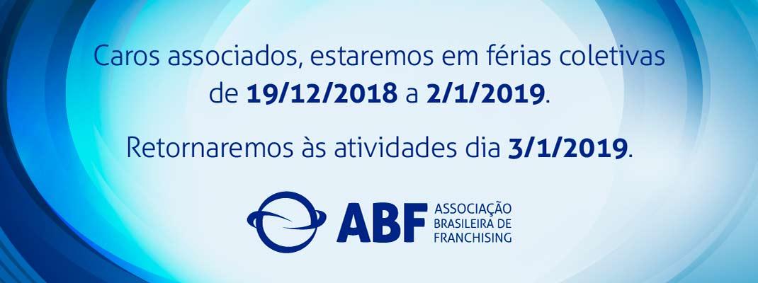 Recesso ABF 2018