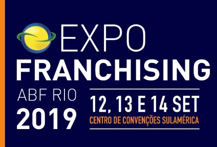 Expo Franchising ABF Rio 2019 inicia a venda de ingressos on line