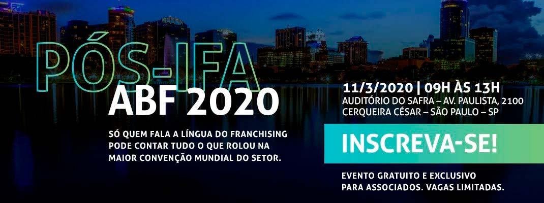 Pós-IFA ABF 2020