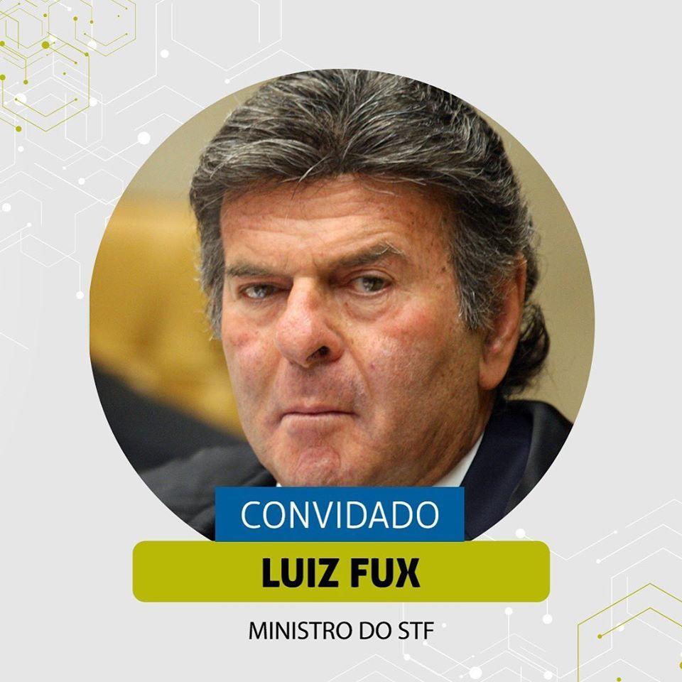 Ministro Fux participa de webinar ABF Rio
