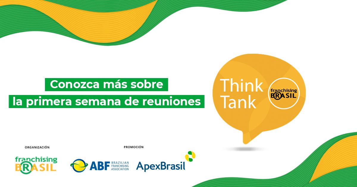 Primeros encuentros de Think Tank Franchising Brasil discuten los cambios de la pandemia, las estrategias y más
