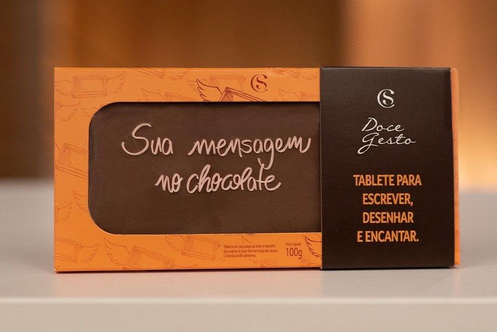 Cacau Show inova no mercado brasileiro e lança tablete de chocolate personalizável