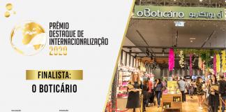 Finalista O Boticário Prêmio Destaque de Internacionalização