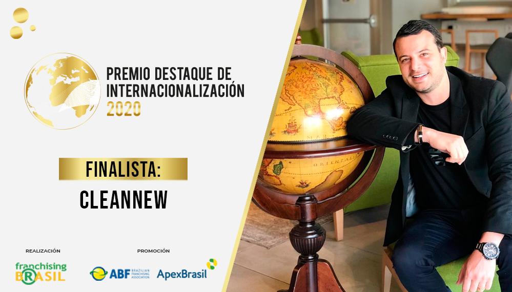 CleanNew es finalista del Premio Destaque de Internacionalización; mira el case de la marca