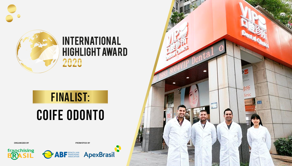 International Highlight Award: Coife Odonto explores franchising and arrives in China