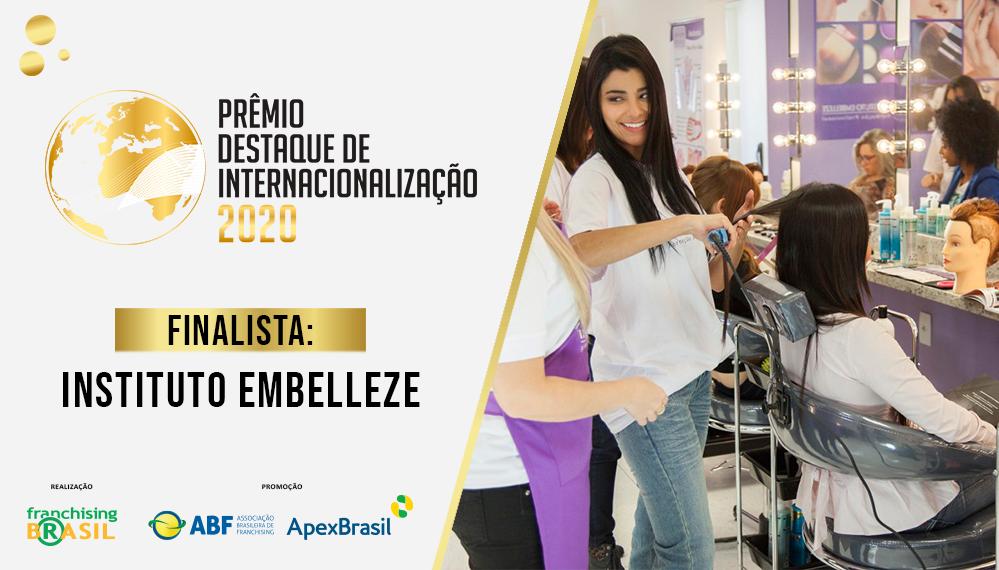 Instituto Embelleze, finalista do Prêmio Destaque de Internacionalização, leva seu método aos Estados Unidos