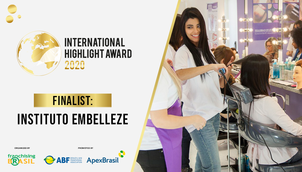 Instituto Embelleze, a finalist in the International Highlight Award, takes its methodology to the United States