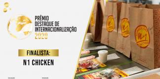 N1 Chicken Finalista Prêmio