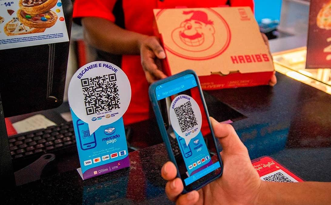 La franquicia brasileña Habib's anuncia opción de pago mediante código QR