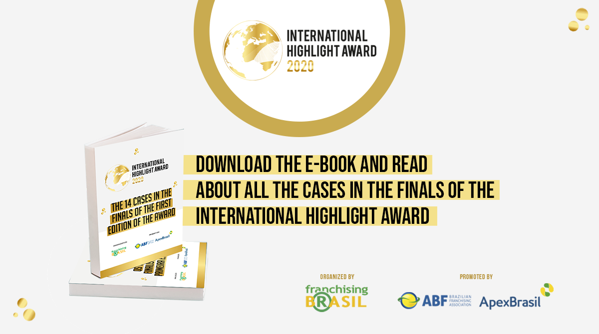 Read all about the cases in the finals of the International Highlight Award in an exclusive e-book