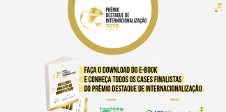 Arte matéria Prêmio Destaque de Internacionalização e-book