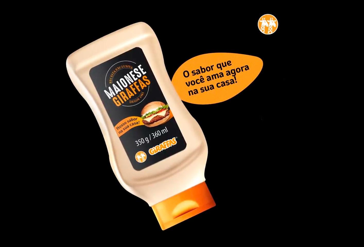 Fast food brasileiro Giraffas anuncia sua própria linha de maionese