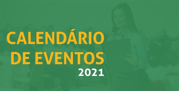 Caléndário de eventos 2021