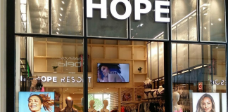 Loja da Hope na Angola