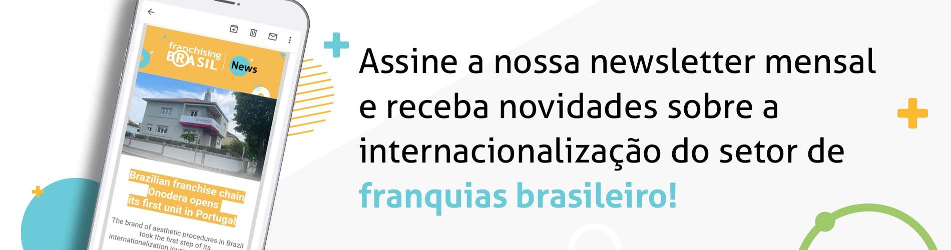 Newsletter Mensal Franchising Brasil