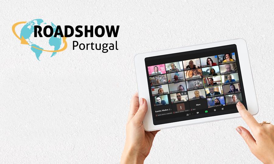 Roadshow Portugal 2021 encerra primeira edição com a participação de 79 empresários portugueses e brasileiros
